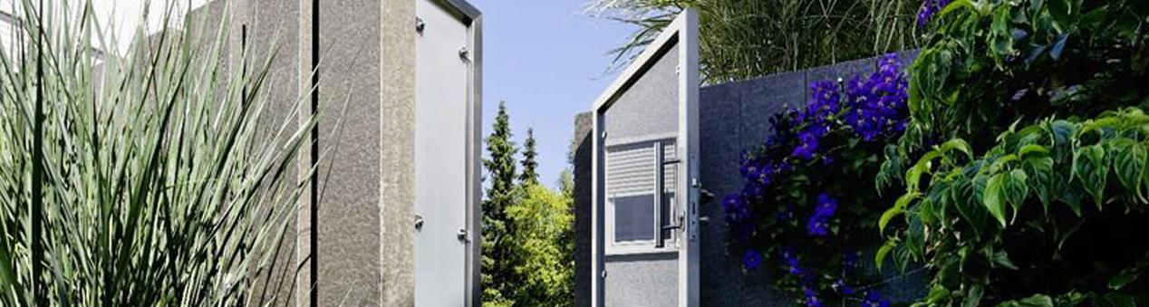 Edelstahl Türen und Tore